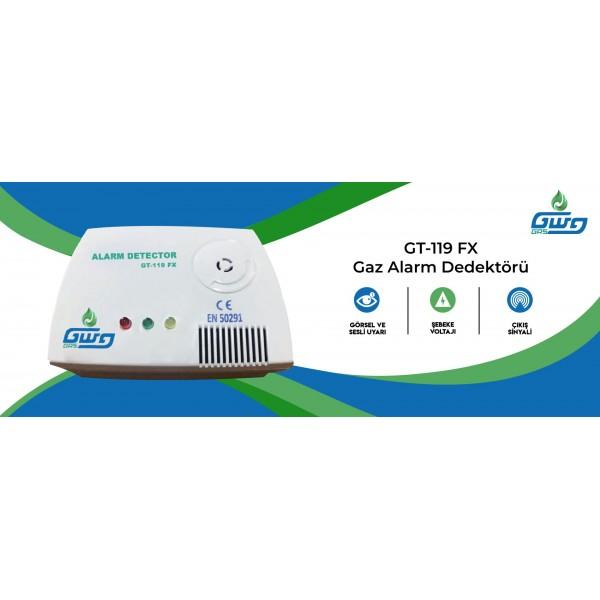 GWG Gaz Alarm Cihazı (GT-119 FX)