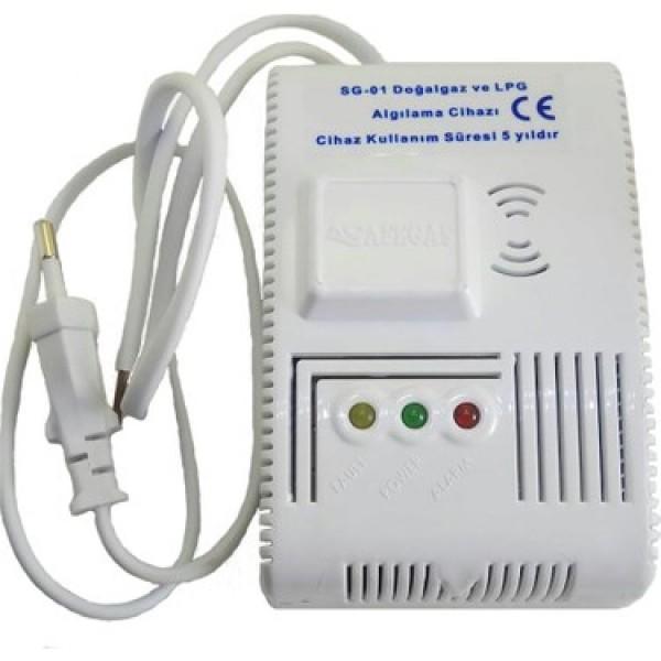 Safegas Gaz Alarm Cihazı