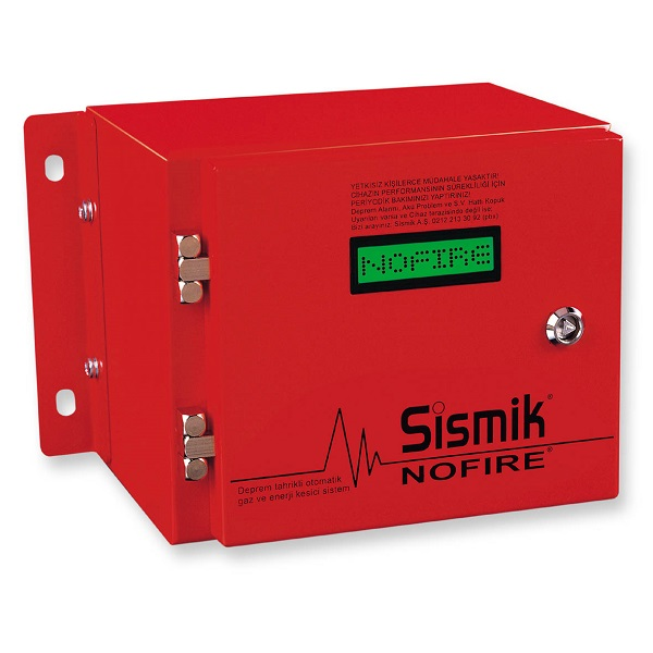 SİSMİK NOFIRE Elektromekanik Deprem Sensörü
